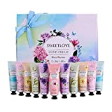 Hand Cream Gift Set, 12pc x 1floz Travel Size Hand Cream with Shea Butter, Natural Aloe, Vitamin E, Moisturizing for Dry Hand and Foot, Best Gift for Women, Mother's Day, Birthday, Christmas.