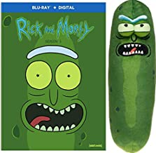 Pickled Out Pack: Rick and Morty Complete Season 3 Blu Ray + Galactic Plushies 7