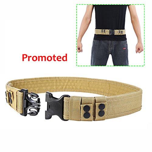 YAHILL® Seguridad Cinturón Táctico Seguro de Combate, Equipo de Utilidad, Equipo Militar...