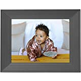 Aura Smart Digital Picture Frame 9 Inch Free Unlimited Storage HD WiFi Frame The Best Way to Share Photos Feel Together from Away