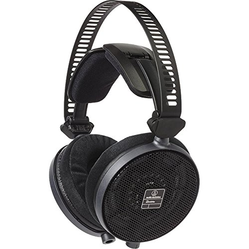 Check Out This Audio-Technica Professional Open-Back Reference Headphones Black (ATH-R70X)