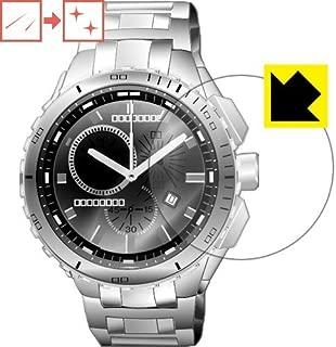 キズ自己修復保護フィルム 時計用液晶保護フィルム 日本製 キズがついても自然に修復! (32mm)