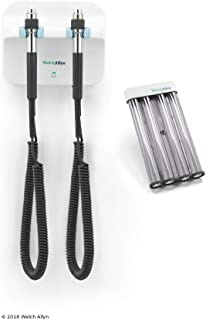 Welch Allyn 77510 Green Series 777 Wall Diagnostic System Including KleenSpec Disposable Specula Dispenser, Instrument Heads Not Included