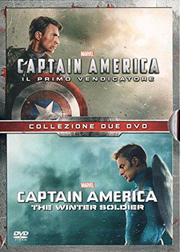 CAPTAIN AMERICA 1 & 2 (Il Primo Vendicatore + The Winter Soldier) (Ed. Italiana Limitata 2 Dvd)