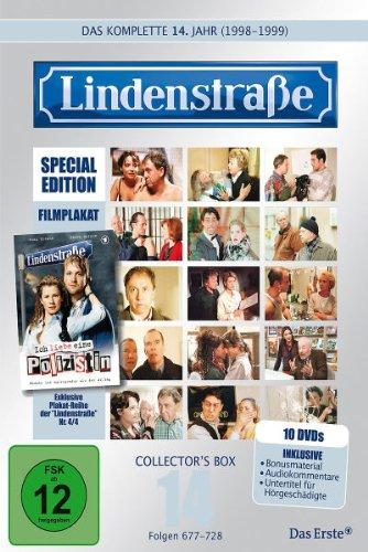 Lindenstraße - Das komplette 14. Jahr (Ltd. Edition mit Filmplakat) (10 DVDs)