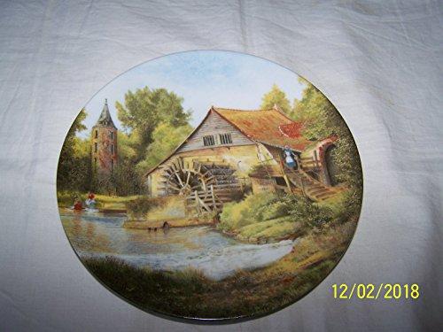 D'Arceau Limoges Vieux Moulin a Alsacia Paysages de Francia en eau Michel Julien placa CP1814