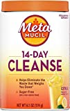 Metamucil, 14-Day Cleanse, Psyllium Husk Fiber Supplement, Eliminate Waste & Promote Regularity, Sugar-Free, Citrus Flavored, (6.1 OZ)