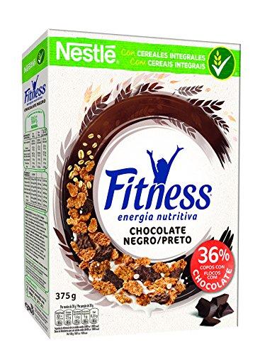 Nestlé, Fitness Cornflakes mit Schokoladenstückchen, Vollkornweizen, Reis und geröstetem Vollkornhafer, 375 g