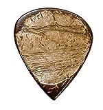 johnny cash guitar pic - Clayton Picks Exotic Coconut Material Guitar Picks (CHS/3)