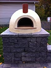 product image for Primavera 70 Outdoor Wood Fired Counter Top Pizza Oven (Yellow)