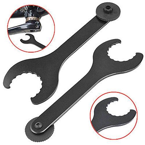 LUPO® Llave Inglesa para Instalar Ejes de Pedalier – para Platos de Piñones Shimano Hollowtech II 2 – Compatible con Bicicletas de Montaña MTB