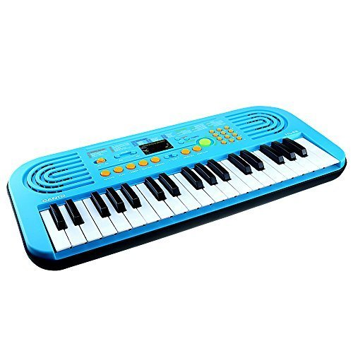 M SANMERSEN 3-6 Year Old Boy Toys, 37 Large Keys Multifunction Portable Electronic Organ Musical Piano Early Learning Toy for Kids Boys Girls Gifts Age 3 4 5 6