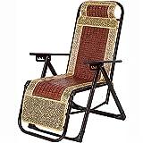 CHLDDHC Silla al Aire Libre de Gravedad Cero Silla reclinable Sillas de Playa Tumbona para el Ocio Interior del jardín de la Playa
