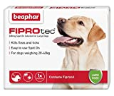 Beaphar FIPROtec Kill Flea Ticks Spot On Drop Treatment Protection for Small Medium Large XL Dogs Puppies & Cats (Large Dog 20-30kg, 1 Treatment)