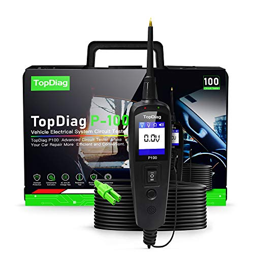JDiag P100 Tester Circuito Auto, 0V - 70V Tester del Sistema di Circuiti Elettrici Automobilistici Originali per Auto e Camion