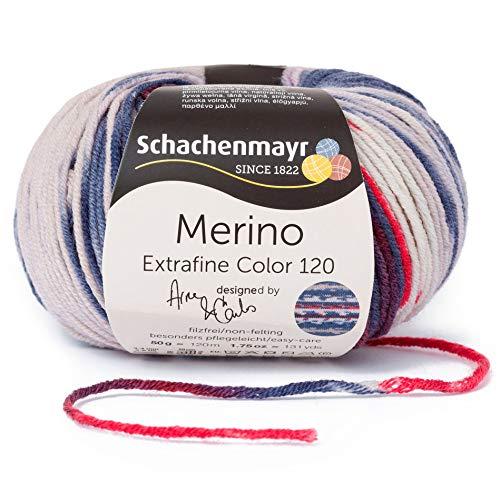 Schachenmayr Handstrickgarne Merino Extrafine 120 Color, 50G Lesja