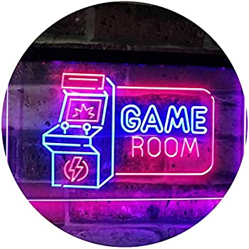 The Geeky Days Video Game Controller Led Neon Sign Gamer Joystick Playing Decorative Lighting Lamp Kids Game Room Wall Art Video Gamer Gifts Amazon Com