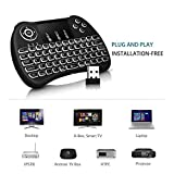 Famous Quality Smart and Mini Wireless Keyboard with Touch Pad/Back Light and Mouse