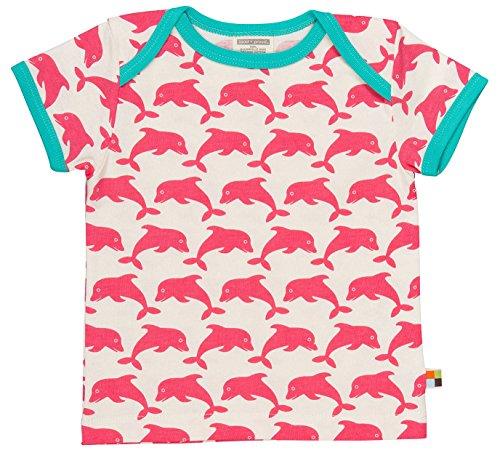 loud + proud loud + proud Kinder-Unisex, Druck T-Shirts, Rosa (Coral) Co, 68 (62/68)