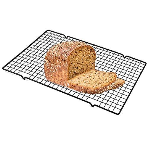 """Herramienta de cocina Rack de enfriamiento - Rack para hornear - Trabajo pesado, acero inoxidable, caja fuerte del horno, 16""""X 10"""" 4 piezas higiénico"""