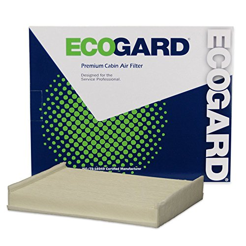 ECOGARD XC10491 Premium Cabin Air Filter Fits Ford F-150 2015-2019, F-250 Super Duty DIESEL 2017-2019, F-250 Super Duty 2017-2019, F-350 Super Duty DIESEL 2017-2019, Expedition 2018-2020