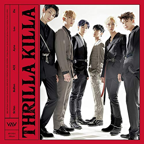 VAV - Thrilla Killa (4th Mini Album) CD+88p Photobook+1Photo Postcard+1Photocard