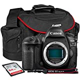 Canon EOS 5D Mark IV DSLR Camera (Body Only) with 32GB SDHC + Camera Bag