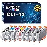 8-Pack HI-Vision Compatible Canon CLI42 CLI-42 Ink Cartridge CLI 42 Replacement for Canon PIXMA Pro-100 Pro-100S Printer
