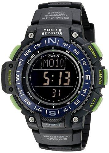 Casio Reloj Digital para Hombre de Cuarzo con Correa en Resina SGW-1000-2