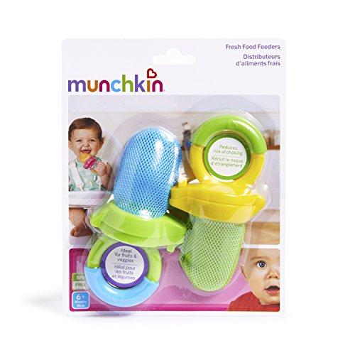 Munchkin Fresh Food Feeder, 2 Pack, Blue/Green