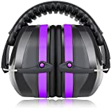 Best Ear Protections - Fnova 34dB Highest NRR Safety Ear Muffs Review