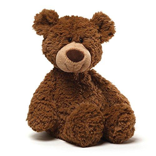 "GUND Pinchy Brown Smiling Teddy Bear Plush Stuffed Animal, 17"""