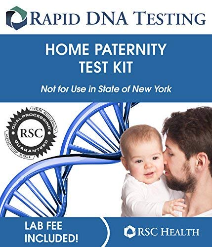 Rapid Paternity Test Kit Lab Fees Included DNA Results in 2 Business Days