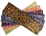 CI 24 Hojas de Papel de Seda con impresión de Safari, Multicolor, 51x12x1 cm