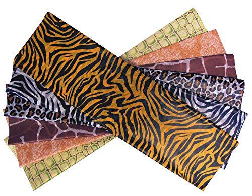 CI Safari Print Seidenpapier, Blech, von 24, Mehrfarbig, 500 x 750 mm