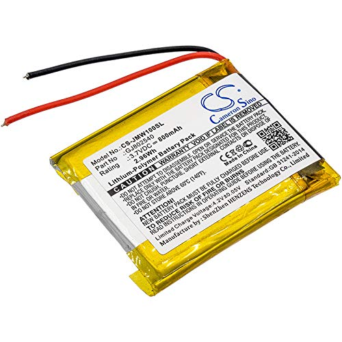 800mAh Battery Replacement for JBL Wind GJ802540