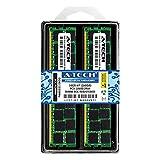A-Tech 16GB KIT 2X 8GB DDR3 ECC Registered PC3-10600R 1333 Compatible with Dell PowerEdge C8220 C8220X M420 M520 M610x M620 M710HD M915 R420 R520 R620 R715 R815 R820 R910 T320 T410 T420 RAM Memory
