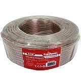 Rollo 65m cable altavoz audio bobina altavoces Speaker altavoces bipolar hilo