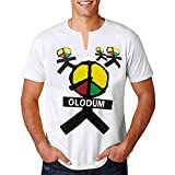 Michael Jackson T Shirt OLODUM Print Tee Shirts They Don't Care About Us' Theme T-Shirt for Fans Gift White (XXXL)