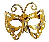 Lovelegis Máscara Veneciana - Mariposa - Color - Disfraz -