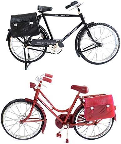 Pukido Classic Retro Bicycle Model Toy Max 82% OFF Simulation Max 84% OFF Li + Briefcase