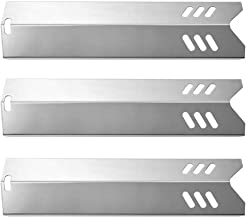Htanch SN1581(3-Pack) Stainless Steel Heat Plate Replacement for Backyard Grill GBC1406W-C, Uniflame GBC1030W, GBC1030WRS,...