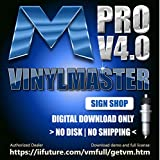 Professional Edition Graphic Design Print and Cut Software for PC VinylMaster PRO (No Disk)