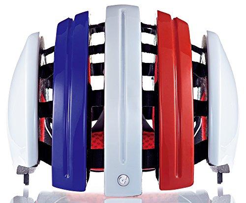 Carrera Radsport-Helm Foldab GTE, French Flag, 58-61 cm
