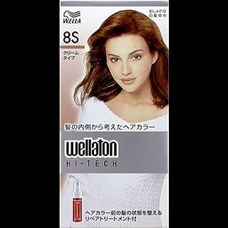 【まとめ買い】ウエラトーン ハイテッククリーム 8S ×2セット
