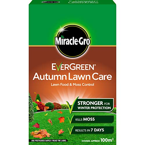 Miracle-Gro EverGreen Autumn Lawn Care, Lawn Food & Moss Control, 3.5...