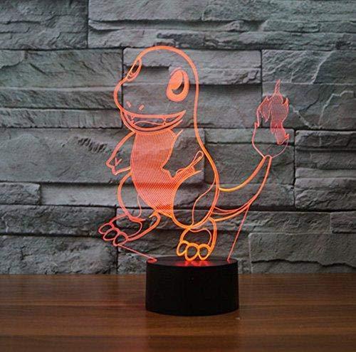 3D LED Tischlampe Acryl Nachtlicht Cartoon Hollywood Film Charakter Kinder Junge Kinder Geschenk Schlafzimmer Dekoration Nettes Monster