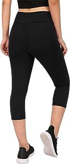 HDE Capri Leggings Scrunch Butt Leggings Yoga Pants for Women Plus Size