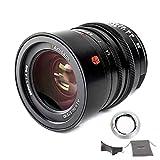 7artisans Lente Leica M-Mount Prime de 35 mm F1.4 de marco completo para cámaras Leica SL, TL, CL Series