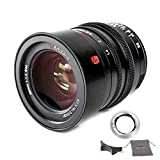 7Artisans 35mm F1.4 Full Frame Manual Focus Leica M-Mount Prime Lens para cámaras Leica SL, TL, CL Series
